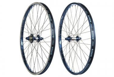 paire de roues cruiser pride racing rival pro sx 24 bleu