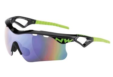paire de lunettes northwave steel noir vert