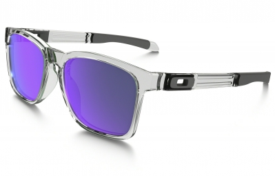 lunettes oakley catalyst transparent violet iridium ref oo9272 05