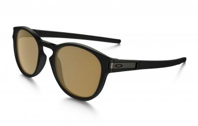 lunettes oakley latch noir marron polarise ref oo9265 07