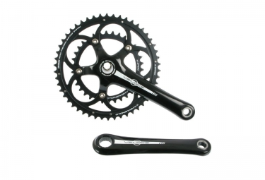 pedalier campagnolo veloce 10v powertorque 52 39 noir