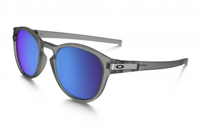 lunettes oakley latch transparent bleu iridium polarise ref oo9265 08