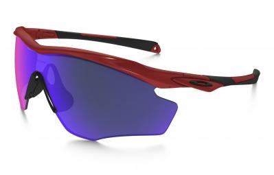 lunettes oakley m2 frame xl rouge violet iridium oo9343 06