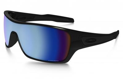 lunettes oakley turbine rotor noir bleu prizm deep water polarise ref oo9307 08