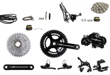 groupe complet campagnolo potenza 50 34 172 5mm 12 27 noir