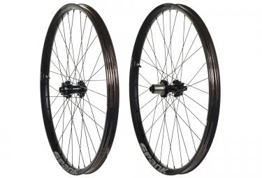 paire de roues spank oozy trail 365 27 5 av 15x100mm ar 12x142mm noir