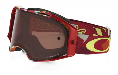 masque oakley airbrake mx tld rouge marron prizm mx ref oo7046 43