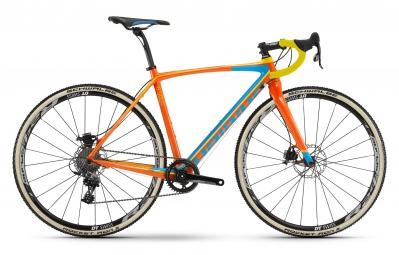 velo cyclo cross haibike 2016 noon 8 50 28 sram rival 1 11v orange