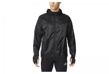 veste coupe vent deperlant adidas kanoi transparent noir