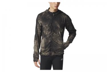 veste coupe vent deperlant adidas kanoi padded noir beige