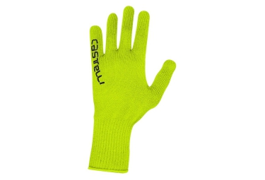 gants castelli corridore jaune