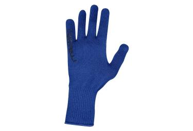 gants castelli corridore bleu