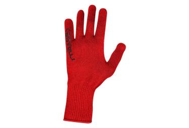 gants castelli corridore rouge