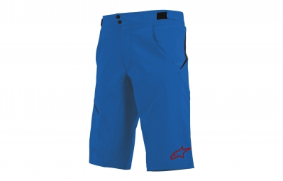 short alpinestars pathfinder bleu rouge