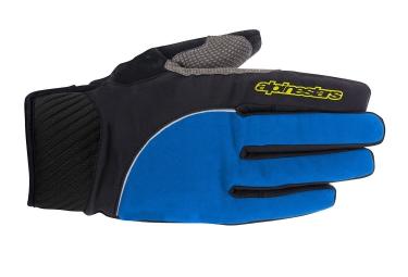 gants alpinestars nimbus noir bleu