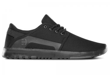 paire de chaussures etnies scout noir gris