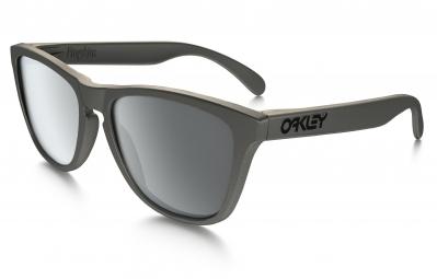 lunettes oakley frogskins metals collection gris noir iridium ref oo9013 87