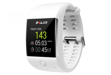 montre de sport connecte polar m600 blanc