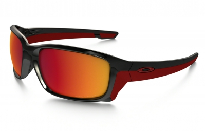 lunettes oakley straightlink noir orange polarise ref oo9331 08