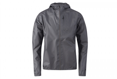 veste coupe vent impermeable gore running wear one gore tex gris