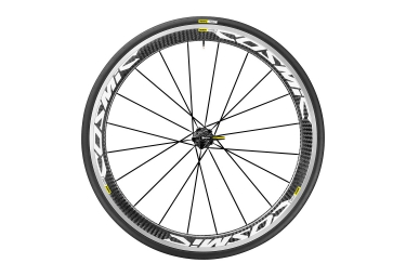 roue arriere mavic 2017 cosmic pro carbon blanc shimano sram yksion pro 25mm
