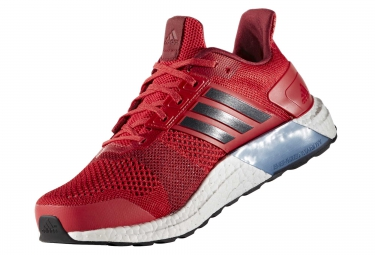 adidas running ultra boost st rouge homme