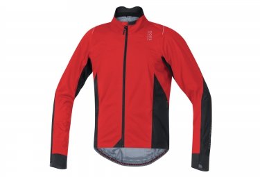 veste impermeable gore bike wear oxygen 2 0 gore tex rouge noir
