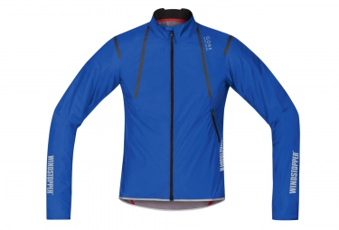 veste coupe vent gore bike wear oxygen windstopper as light bleu