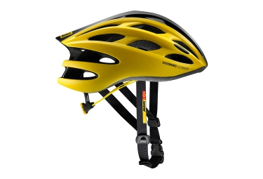 casque mavic cosmic ultimate ii jaune noir 2017