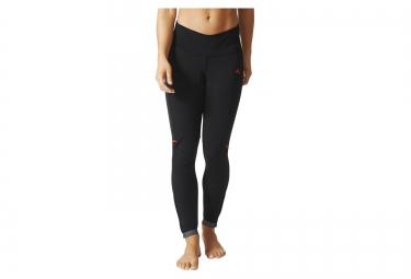cuissard velo long sans bretelles femme adidas cycling rompighiaccia noir