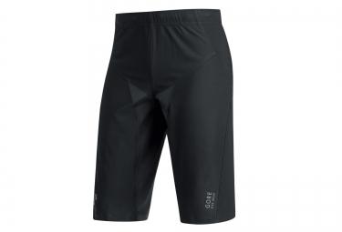 short avec peau gore bike wear alp x pro noir