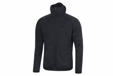veste a capuche gore bike wear element urban windstopper noir