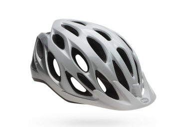 casque bell traverse blanc argent