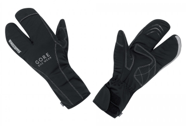 gants hiver gore bike wear road split windstopper noir