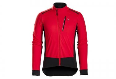 veste bontrager velocis s1 softshell rouge