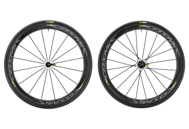 paire de roue route mavic 2017 cosmic pro carbon exalith shimano sram yksion pro 25mm