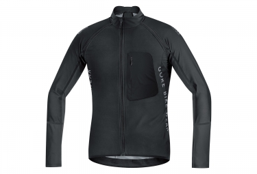 veste soft shell gore bike wear alp x pro noir
