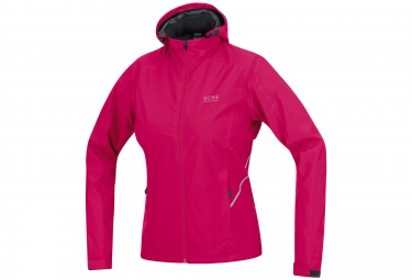 veste coupe vent gore running wear essential lady 2 0 windstopper active rose