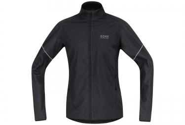 veste coupe vent gore running wear essential windstopper noir