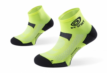 chaussettes basses bv sport scr one jaune
