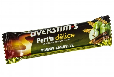 overstims barre energetique perf n delice pomme canelle