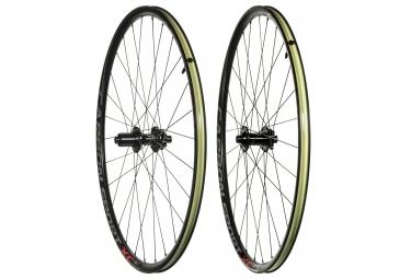 paire de roues asterion carbon sport xc 29 15x100 12x142mm corps shimano sram tl rea