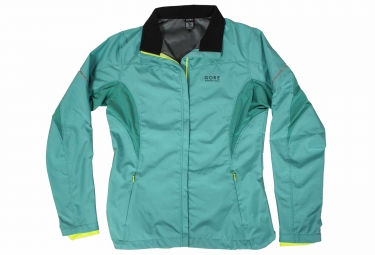 gore running wear veste essential windstopper active shell lady partial femme