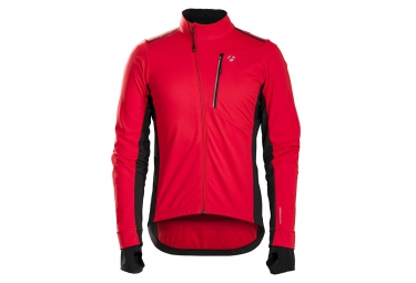 veste bontrager velocis s2 softshell rouge