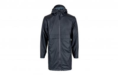 veste impermeable rains thermal collection mile bleu