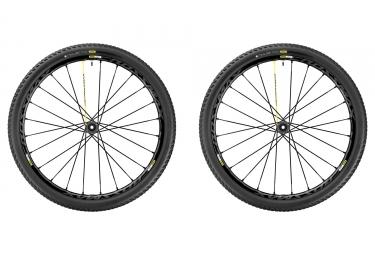 paire de roues mavic 2017 crossmax pro wts 29 boost 15x110 mm 12x148 mm corps xd pne