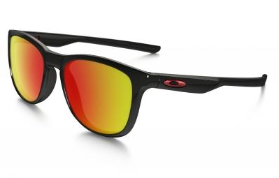 lunettes oakley trillbe x noir rouge iridium polarise ref oo9340 02