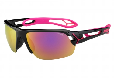 cebe lunettes s track medium noir magenta 1500 gris