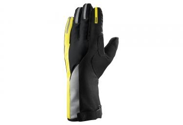 gants hiver mavic vision thermo noir jaune