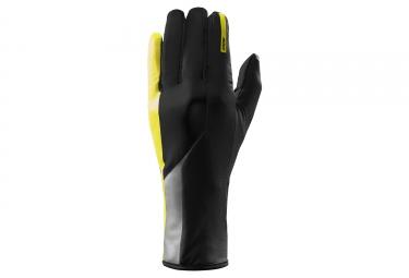 gants mavic vision mi saison noir jaune